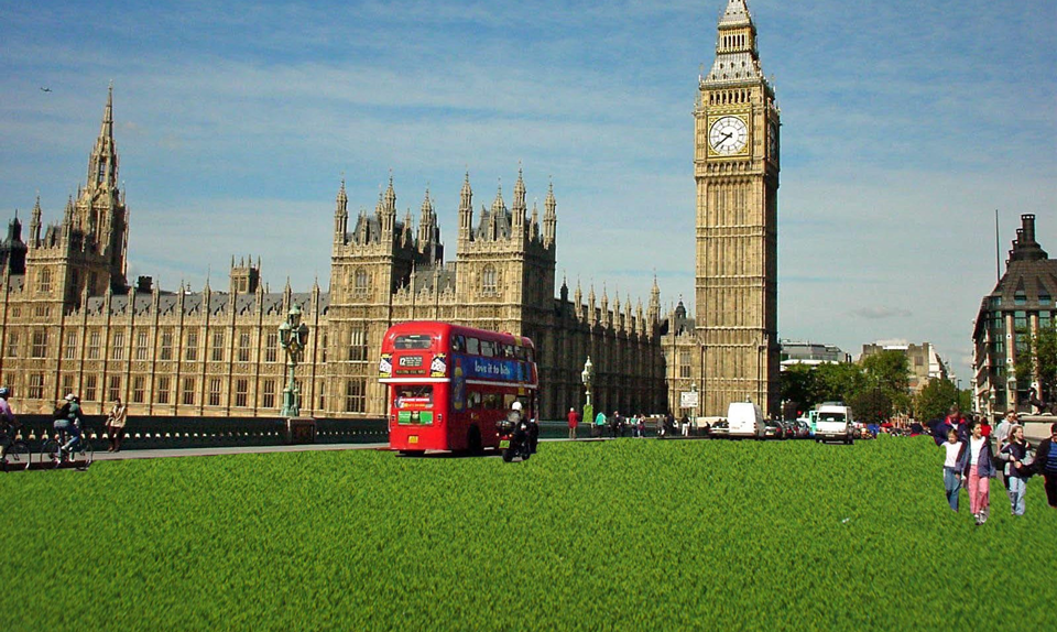fakegrass Londoners Evangelize Artificial Grass