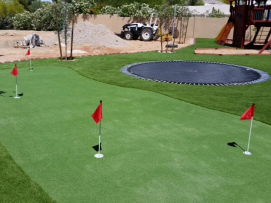 Artificial Grass Carpet Isla Vista, California Office Putting Green, Backyards artificial grass
