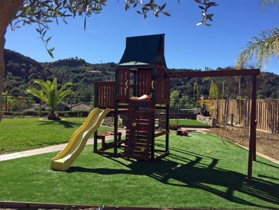Artificial Grass Photos: Artificial Grass Carpet Los Alamos, California Backyard Deck Ideas
