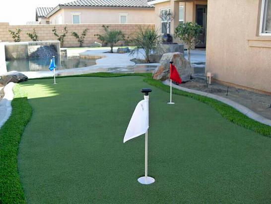 Artificial Grass Photos: Artificial Grass Mission Hills, California Indoor Putting Green, Beautiful Backyards
