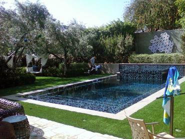 Artificial Grass Photos: Artificial Turf Cost Mission Canyon, California Backyard Playground, Swimming Pool Designs