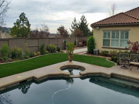Artificial Grass Photos: Artificial Turf Santa Barbara, California Design Ideas, Above Ground Swimming Pool