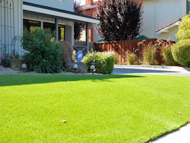 Artificial Grass Photos: Fake Lawn Solvang, California Backyard Deck Ideas, Front Yard Landscaping Ideas