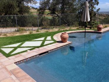 Artificial Grass Photos: Fake Turf Orcutt, California Landscape Design, Backyard Designs