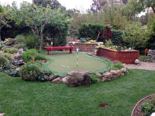 Artificial Grass Photos: Faux Grass Guadalupe, California Putting Greens, Backyard Makeover