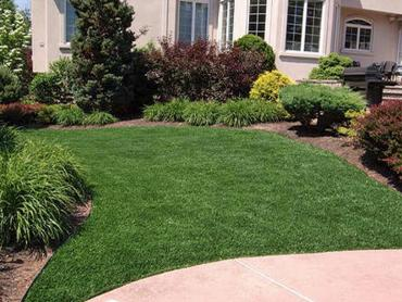Artificial Grass Photos: Grass Carpet Los Alamos, California Landscape Rock, Front Yard Landscaping Ideas