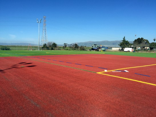 Artificial Grass Photos: Installing Artificial Grass Cuyama, California Stadium