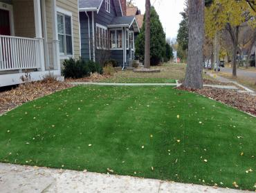 Artificial Grass Photos: Installing Artificial Grass Montecito, California Landscape Rock, Front Yard Landscaping
