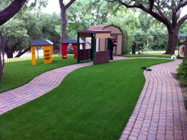 Artificial Grass Photos: Installing Artificial Grass Summerland, California Backyard Deck Ideas, Commercial Landscape