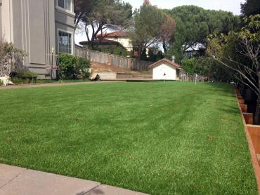 Artificial Grass Photos: Plastic Grass Garey, California Landscape Rock, Backyard Makeover