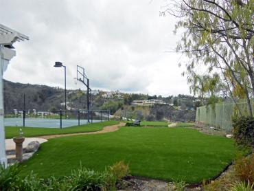Artificial Grass Photos: Synthetic Grass Montecito, California Lawns, Commercial Landscape