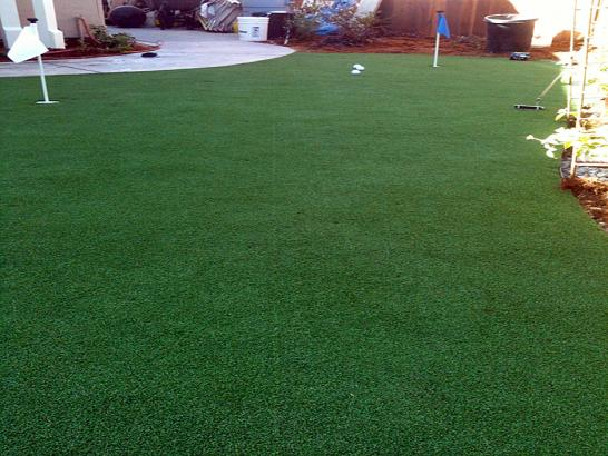 Artificial Grass Photos: Synthetic Grass New Cuyama, California Putting Green Carpet, Backyard Design