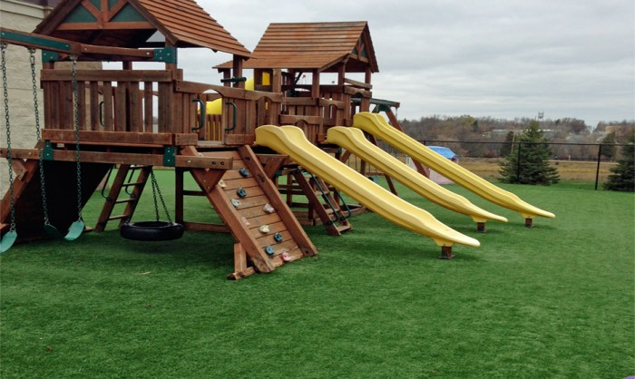 Artificial Grass for Playgrounds in Santa Barbara